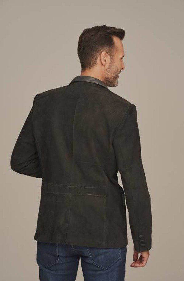 Pánské kožené sako