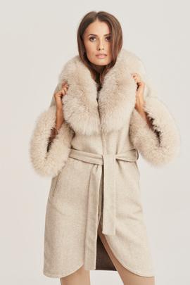 Women's alpaca coat