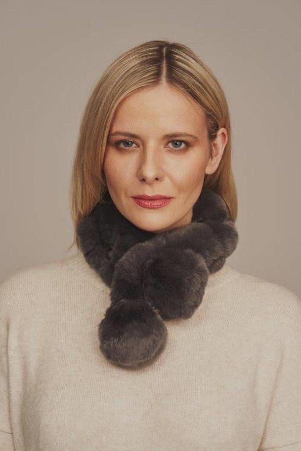 Pelz Schal Damen